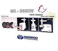 Мясорубка электрическая DAEWOO MK-G33DW, фото 1