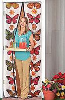 Антимоскитная сетка-штора на магнитах Magic Mesh Butterfly, фото 1