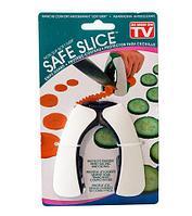 Приспособление для безопасной нарезки овощей SAFE SLICE, фото 1