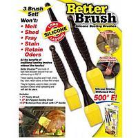 Набор кулинарных кисточек для обмазывания Better Brush [3 шт.]