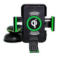 Зарядное устройство для смартфонов беспроводное автомобильное Saitake Qi STK-A9