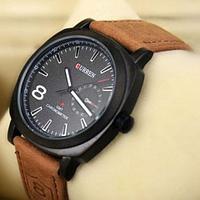 Часы наручные мужские реплика Curren Chronometer GMT-8