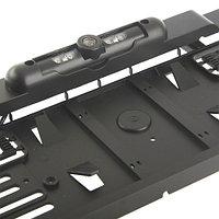 Рамка под номер автомобиля с камерой заднего вида (Черный)