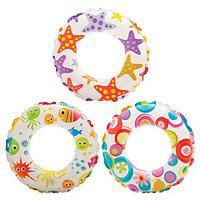Круг надувной INTEX 59230 Lively (Разноцветные шары), фото 1