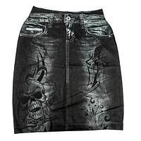 Юбка с утягивающим эффектом Trim 'N' Slim Skirt (S-M / Черный)