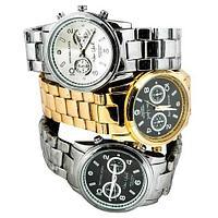 Часы наручные унисекс реплика Michael Kors New York LE MK5662 (Сталь, черный циферблат)