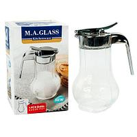 Сахарница с дозатором M.A.GLASS