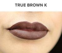 Жидкая матовая помада + карандаш KYLIE Lip Kit от Кайли Дженнер (True Brown K), фото 1