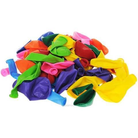 Комплект воздушных шариков Xindi balloons [100 шт., 10 цветов] - фото 2