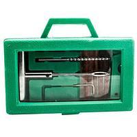 Набор для ремонта проколов бескамерных шин ABORASCO GROUP {12 предметов} в кейсе