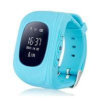 Умные часы для детей с GPS-трекером Smart Baby Watch Q50 (Голубой)