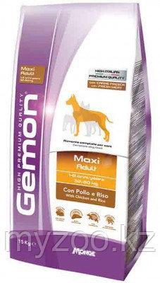 Gemon Dog Maxi Adult, сухой корм с курицей для взрослых собак, уп. 15 кг.