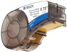 Картридж к принтеру BRADY BMP21  M21-750-427 самоламинирующиеся кабельные маркеры, 19.05 мм/4.3 м (d4 мм)