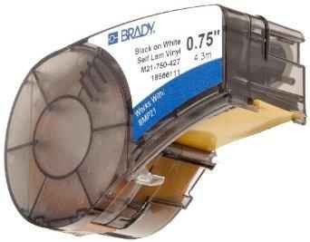 Картридж к принтеру BRADY BMP21  M21-750-427 самоламинирующиеся кабельные маркеры, 19.05 мм/4.3 м (d4 мм), фото 2