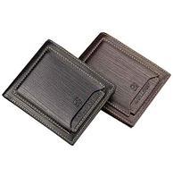 Бумажник мужской двойного сложения Baellery B236-1 (Черный), фото 1