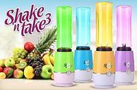 Блендер для приготовления коктейлей «Фруктовый фейерверк» Shake 'N' Take 3