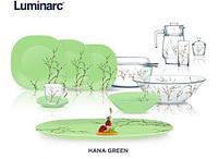 Сервиз столовый Luminarc Hana Beige / White / Green (Hana Green (50 предметов)), фото 1