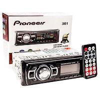 Автомагнитола с пультом управления Pioneeir [USB, MP3, AUX, RCA, FM; 4х50 Вт] (301)