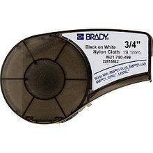 Картридж к принтеру BRADY BMP21  M21-750-499 -лента нейлоновая, 19.05mm/4.87m (черный на белом)