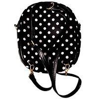 Рюкзак детский для девочки «My little Banny» (Черный)