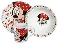 """Набор детской посуды Luminarc Disney """"Minnie Mouse"""" [3 предмета] 70165, фото 1"""