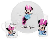 Набор детской посуды Luminarc Disney «Minnie Colors» [3 предмета] H5321, фото 1