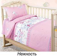 Комплект детского постельного белья от Текс-Дизайн (Нежность)