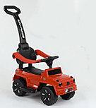 Толокар-каталка Mercedes Gelendwagen BRJ808 3в1, красный, фото 3