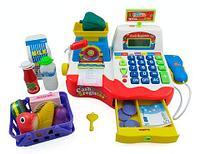 Игровой набор мини-касса Play Smart с калькулятором и микрофоном, фото 1