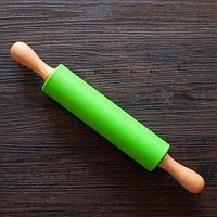 Скалка с силиконовым покрытием  Dough Roller (41 х 7 см)