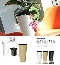 Горшок цветочный высокий TUBUS Slim Shine DTUS  200S Prosperplast Польша