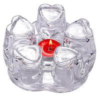 Стеклянная подставка для подогрева чайника GlasWare, фото 1