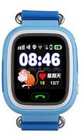 Умные часы детские Q80 1.44 с сенсорным дисплеем и GPS-маяком (Голубой), фото 1
