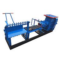 Станок для произвоства кирпича JZ220 с дизельным генератором