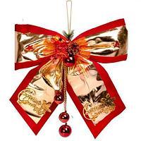 Подвеска-бант новогодняя «Christmas greetings», фото 1