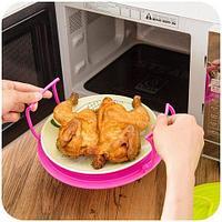 Поднос-столик 4-в-1 многофункциональный для микроволновой печи