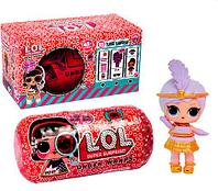 """Игрушка L.O.L Surprise UNDER WRAPS """"Кукла-сюрприз в капсуле"""" EYE SPY  [качественная реплика]"""
