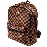 Рюкзак молодежный E&N (Коричневая шотландка), фото 1