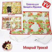 Сушилка-коврик электрическая для овощей и фруктов «Мощный Урожай» (55 х 60 см)