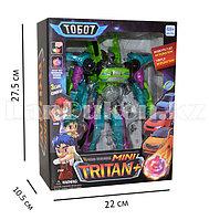Игрушка детская трансформер ТОБОТ mini Tritan+ светящийся 339-3C