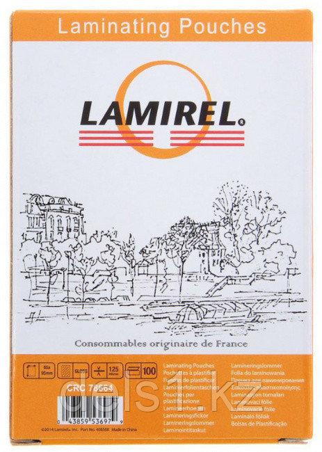 Плёнка для ламинирования Lamirel LA-78658  А4, 100мкм, 100 шт.