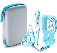 Набор для ухода за ребенком Baby Care Kit [9 предметов] (Голубой)