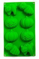 Силиконовая форма для выпечки и шоколада «Праздничные штучки» (Хэллоуин), фото 1