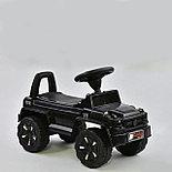 Толокар-каталка Mercedes Gelendwagen BRJ808 3в1, черный, фото 3