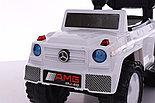 Толокар-каталка Mercedes Gelendwagen BRJ808 3в1, белый, фото 4