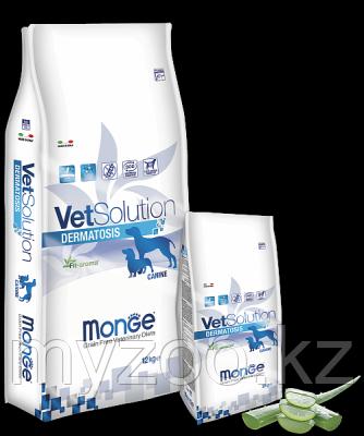 Monge Grain Free Vetsolution Adult Dermatosis Canine, Монже  корм для собак с кожными заболеваниями, уп.2кг