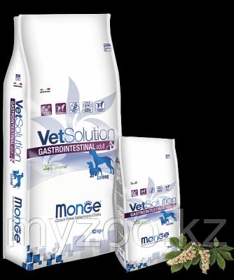 Monge Grain Free Vetsolution Adult Gastrointestinal, Монже сухой корм для собак с проблемами ЖКТ 2кг
