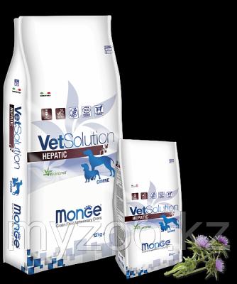 Monge Grain Free Vetsolution Hepatic Canine, Монже сухой корм для собак с заболеваниями печени, уп. 2кг.
