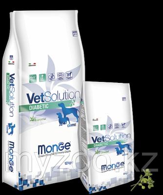 Monge Grain Free Vetsolution Diabetic Canine, Монже сухой корм для собак при диабете, уп. 2кг.