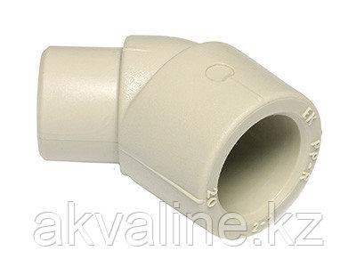 Угольник 45° Wavin Ekoplastik PPR, внутренний/наружный, d 25  SKO12545XX